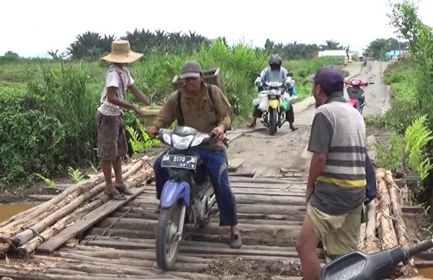 jembatan kayu galam
