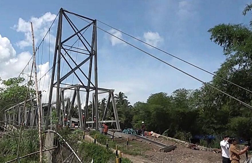 pembangunan jembatan Loklahung