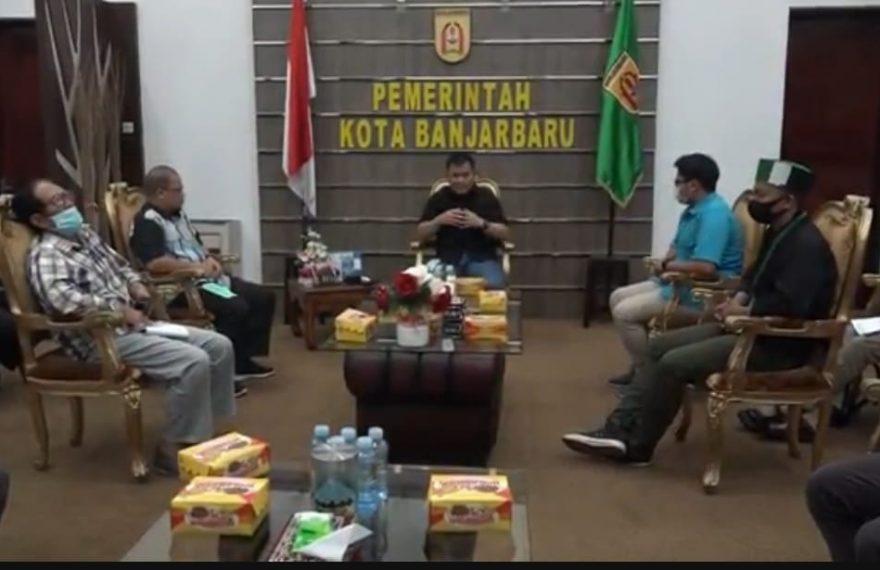 pemerintah kota Banjarbaru bersama tokoh pemuda dan KNPI kota Banjarbaru