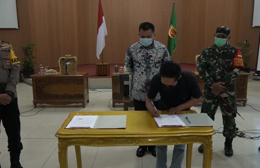 penjabat sementara wali kota Banjarbaru, juga menyerap aspirasi PKL