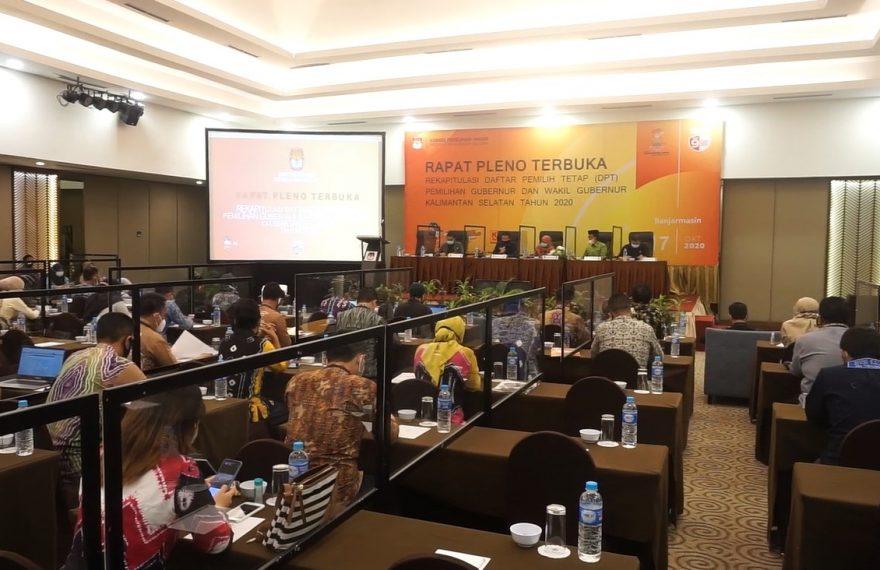 Rapat Pleno KPU Kalsel