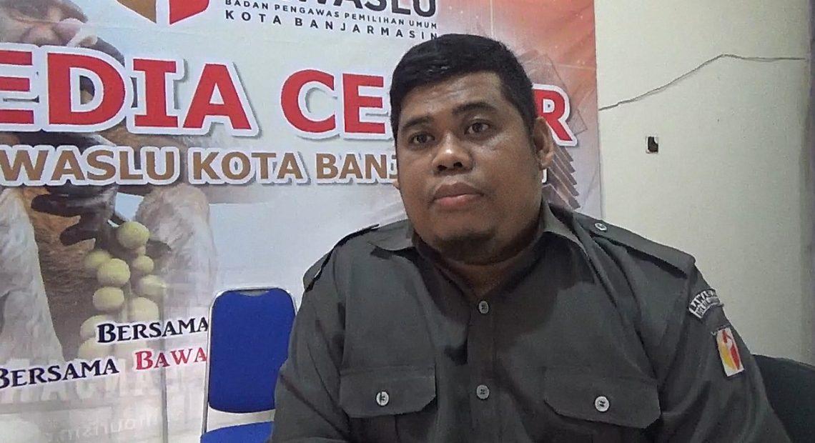 Subhani, anggota Bawaslu kota Banjarmasin