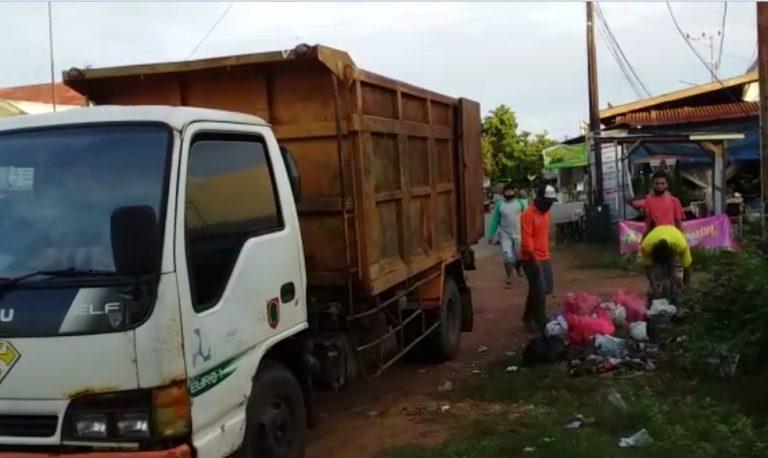 truk pengangkut sampah, 70% bak dalam keadaan rusak