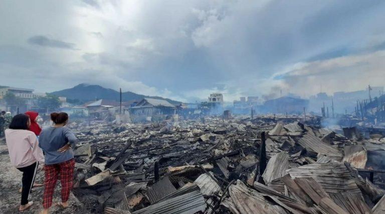 DPRD Kotabaru Loby Hingga ke Pusat Tangani Eks Kebakaran