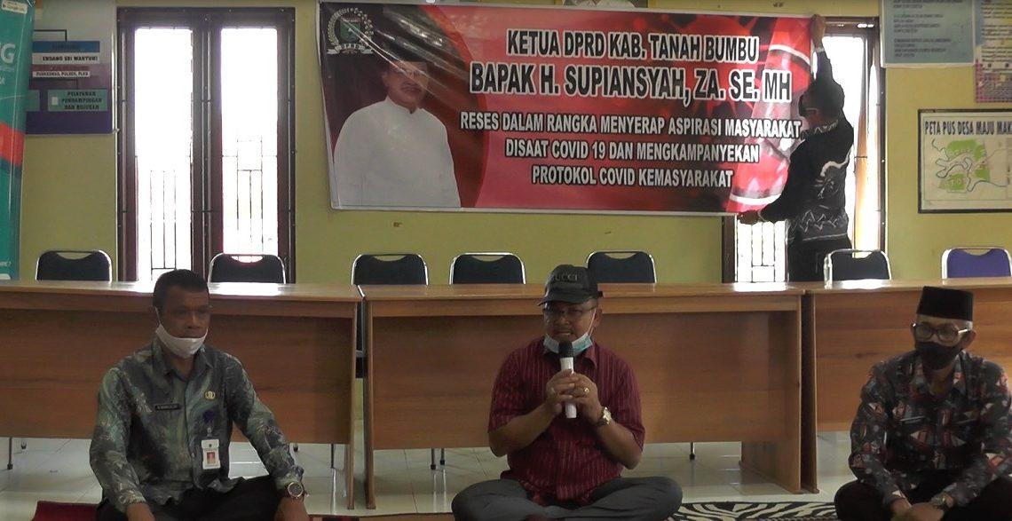 Anggota DPRD Tanah Bumbu melakukan Reses selama 3 hari