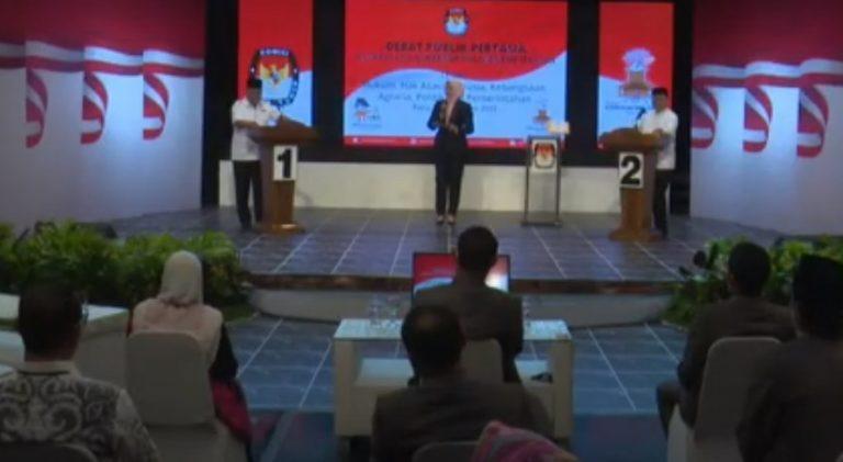 Debat calon gubernur kalsel