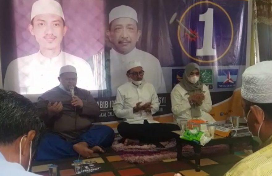 H Saidi Mansyur mengunjungi warga Desa Mataraman