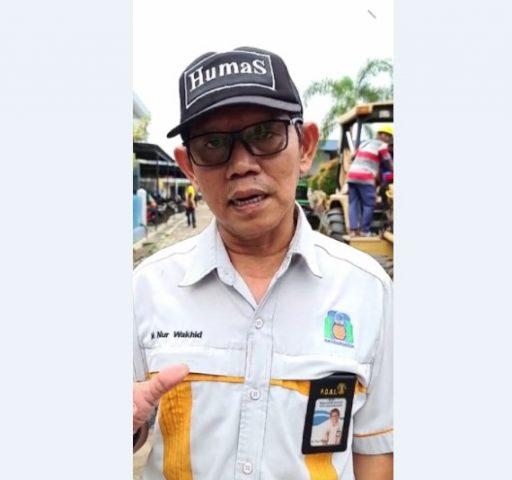 Humas PDAM Bandarmasih M Nur Wakhid