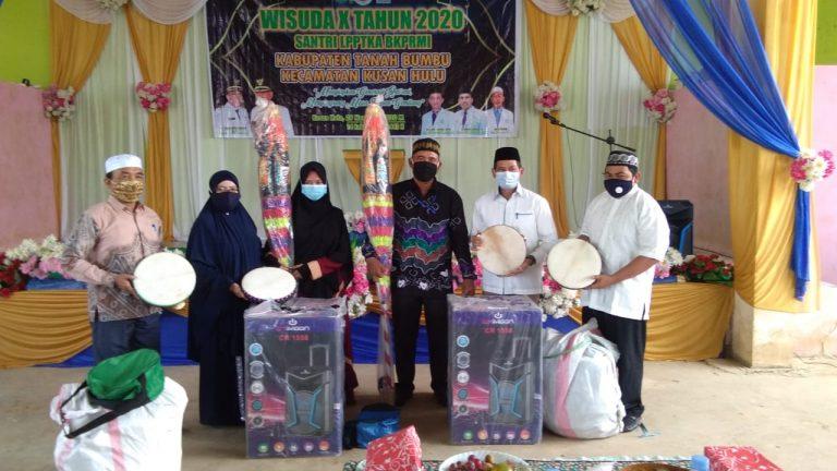 Wisuda Santri dan Santriwati TPA di Kecamatan Kusan Hulu, Bupati : Ciptakan Generasi Qur'ani Yang Berakhlakul Karimah