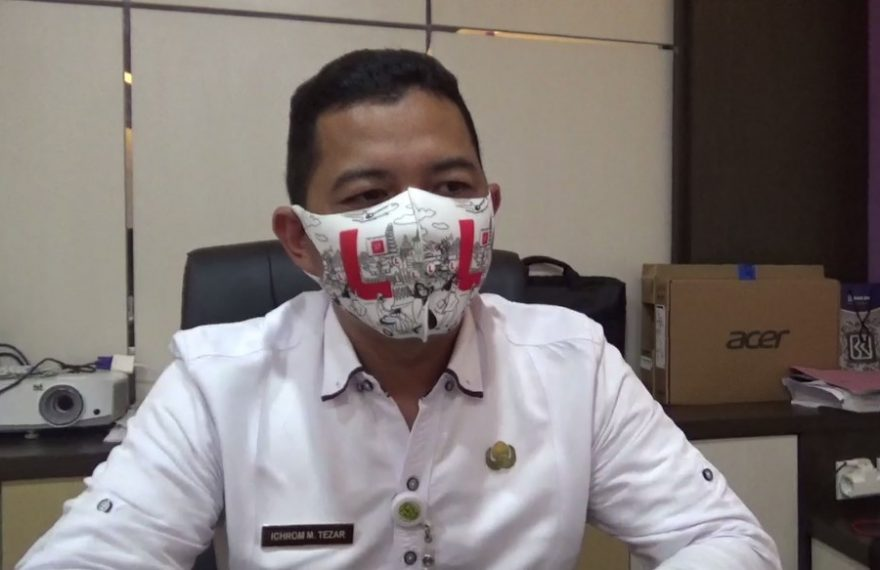 Ichrom M. Tezar Kanid PSDP Disperdagin Kota Banjarmasin.