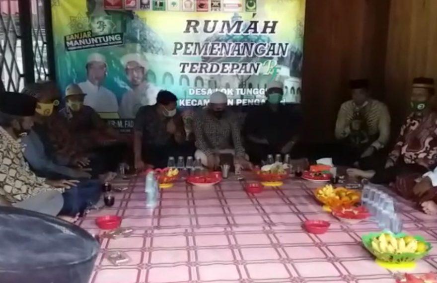 Kampanye Tatap muka di Kecamatan Pengaron