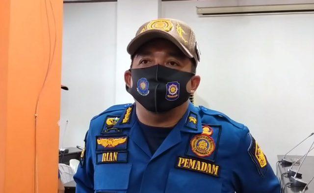 Khairian Anshari PLT Kepala Dinas Satpol PP & Damkar Kotabaru.