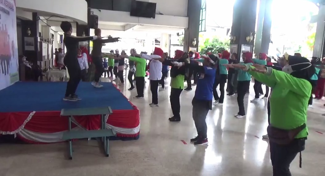 Lomba Senam Pelangi Aerobic 2020