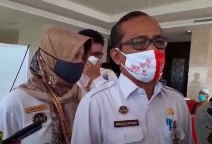 Machli Riyadi Kepala Dinas Kesehatan Kota Banjarmasin.