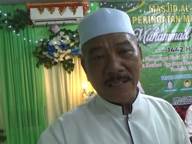 Mahyani Diris Ketua Masjid Al-Ihsan AMD