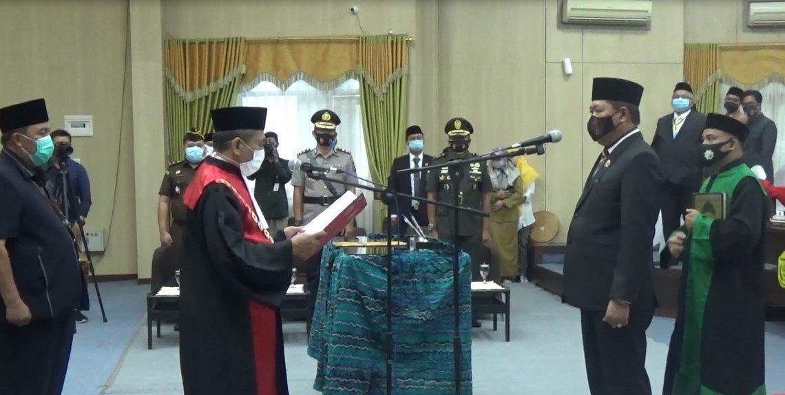 Pelantikan Matnor Ali sebagai Wakil Ketua DPRD Banjarmasin
