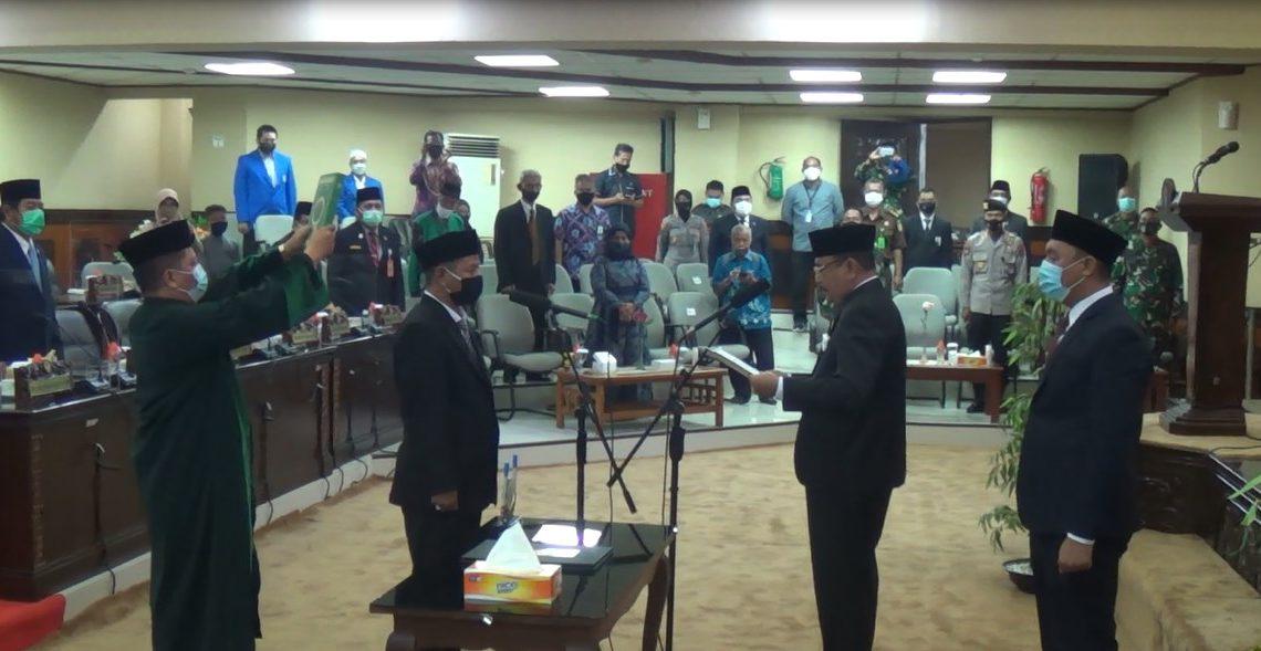 Pelantikan anggota DPRD Kalsel Syahrudin