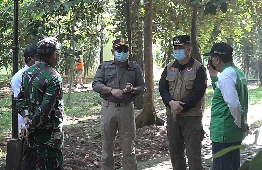 Pjs wali kota Banjarbaru datangi hutan pinus