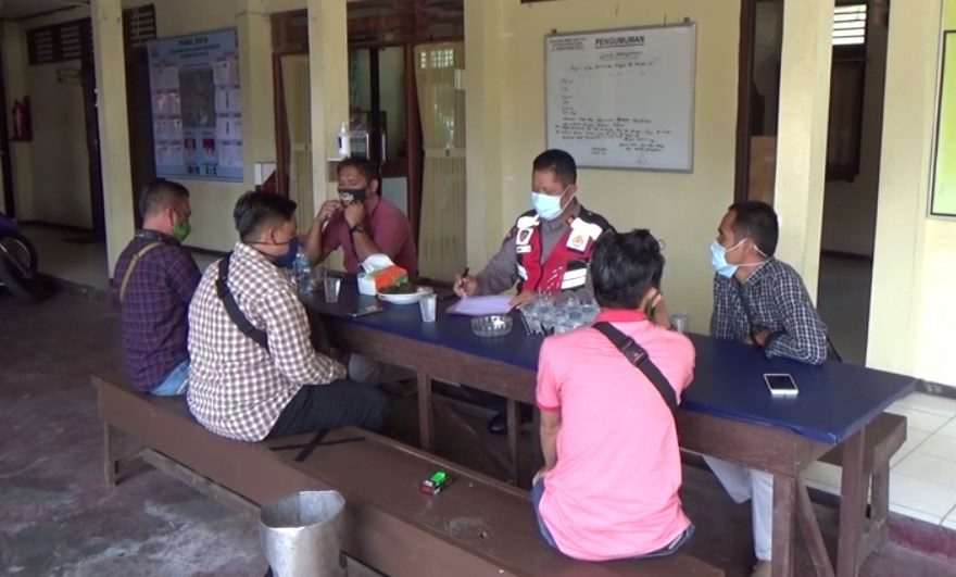 Polsek Murung Pudak Kabupaten Tabalong Ciduk Makelar Loker PT AJM