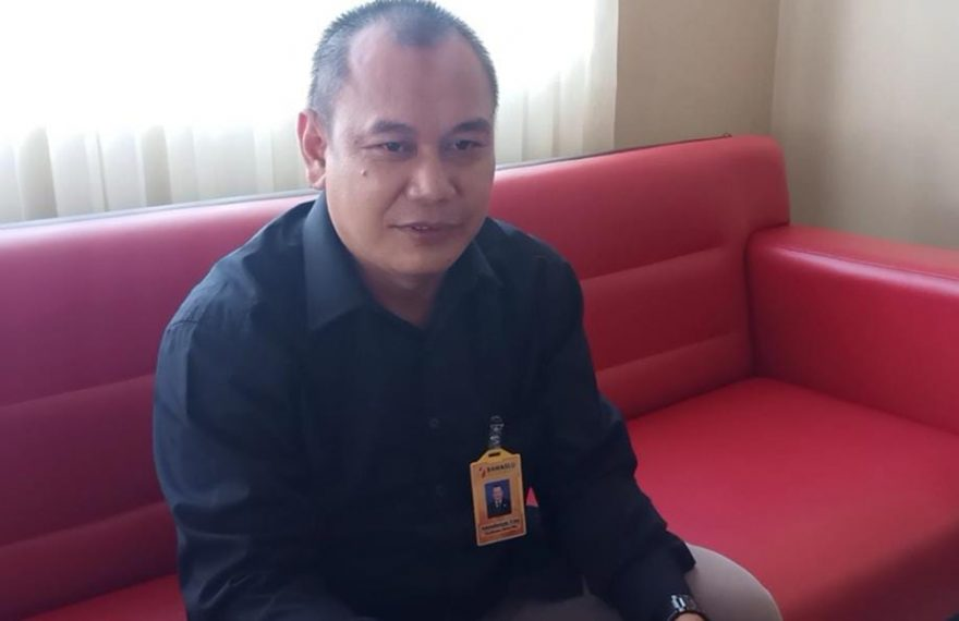 Rahmadiansyah Koordinator Divisi PHL Bawaslu Banjarmasin.
