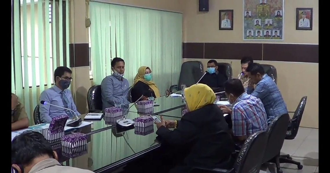 Rapat DPRD Banjarmasin dengan Dinas PUPR