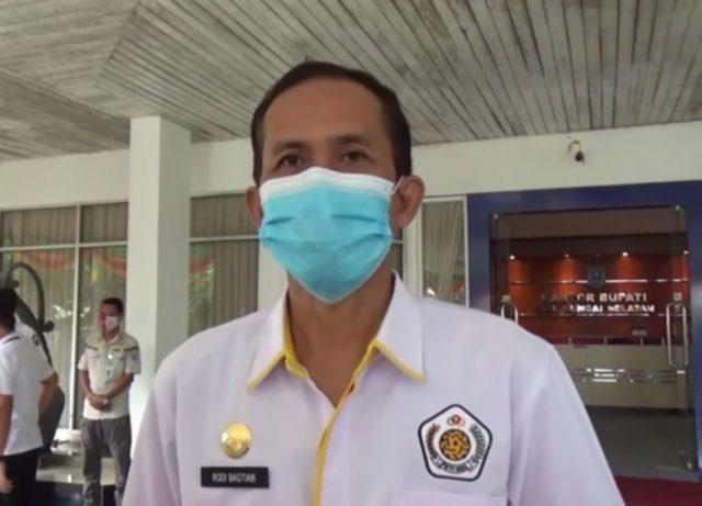 Rudi Bastian Ketua Umum Pengcab PSTI Kabupaten Hulu Sungai Selatan.