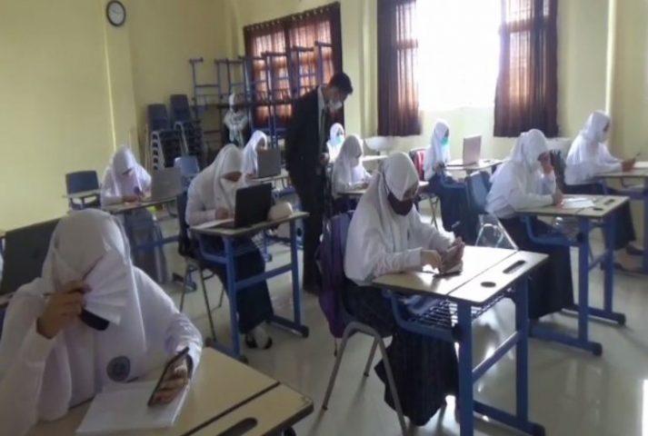 SMP Al Mazaya Islamic School Terapkan Prokes