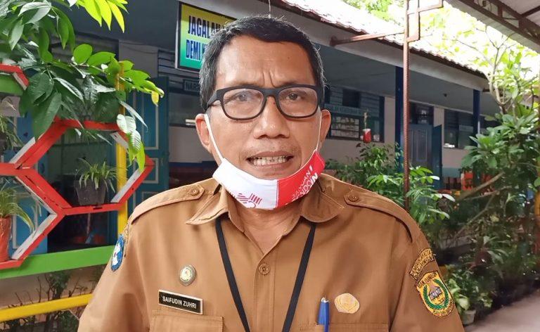 Saifuddin Zuhri Kepsek SMPN 10 Banjarmasin