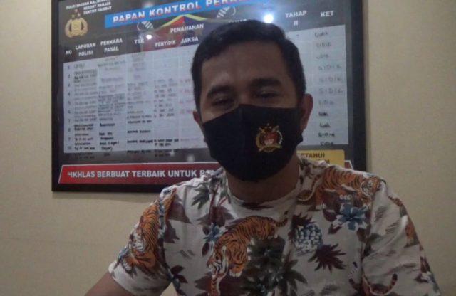 IPDA Ari Handoyo Kanit Reskrim Polsek Gambut