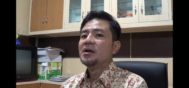 Suyato Awi Ketua Komisi I DPRD Kota Banjarmasin.