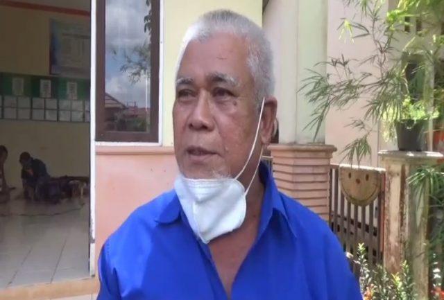 Syamsudin Ketua RT 36 Kelurahan Surgi Mufti