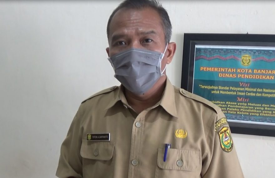 Totok Agus Daryanto Disdik kota Banjarmasin