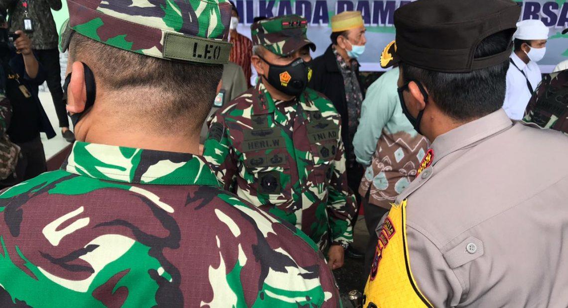 Pangdam Vl Mulawarman Siap Amankan Pilkada 2020