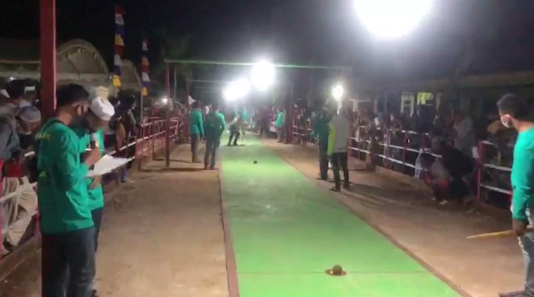 Calon Bupati Banjar Si Manis Saidi Mansyur ikut Belogo