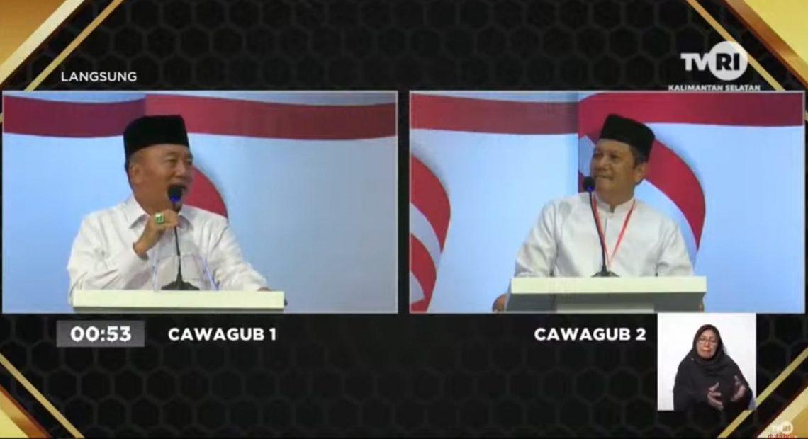 Debat Publik Jilid II Cawagub Kalsel