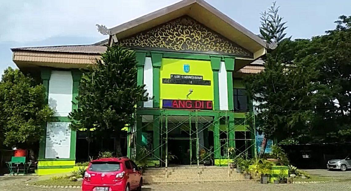 Gedung Pemuda Kabupaten Banjar (foto:duta tv)