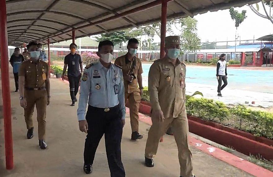 kunjungan Pjs wali kota Banjarbaru, ke Lapas Kelas II B