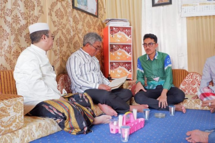 Guru Daudi Dalam Pagar Doakan Cabup Banjar Saidi Mansyur