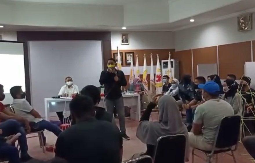 Suasana tes psikologis atlet Kalimantan Selatan