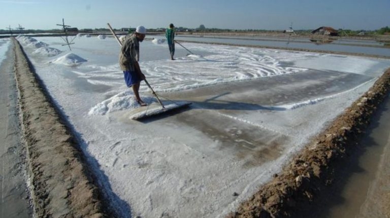 Garam Tanpa Lahan Manfaatkan Air Buangan PLTU