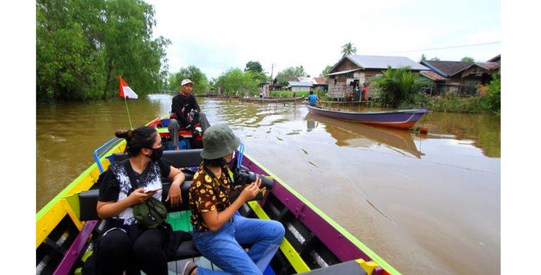 Wisata Susur Sungai Banjarmasin Buka Sebagian
