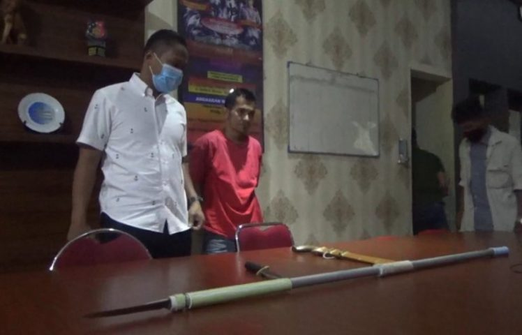 Polisi Tangkap Satu Dari Tiga Pelaku Penyerangan