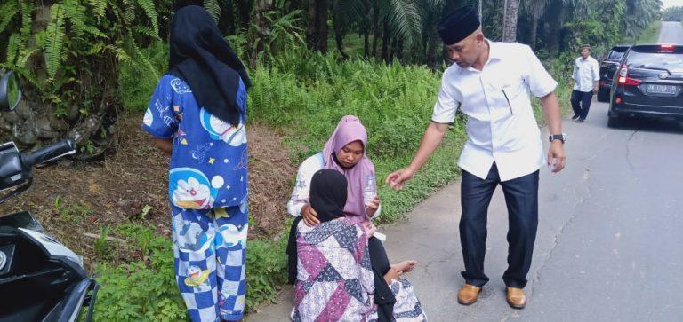 Korban Laka Sapi, Putri Pendukung 01 Ditolong Tim ZR