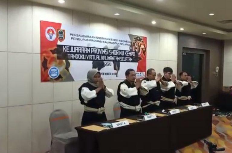 Kejuaraan provinsi Shorinji Kempo tahun 2020 Banjarmasin Juara Umum