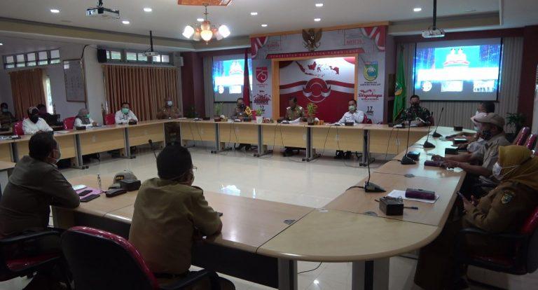 Rapat Audit Dana COVID-19 Pemkab Tala