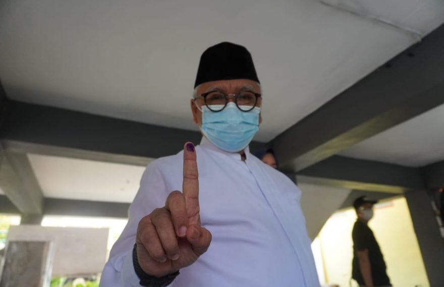 Abdul Haris Makkie, Calon Wali kota nomor urut 1