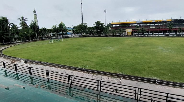 Akhir Februari Lapangan Stadion Mini Mulawarman Bisa Digunakan