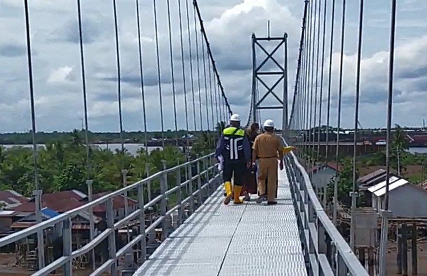 Jembatan Pulau Bromo rampung 96%