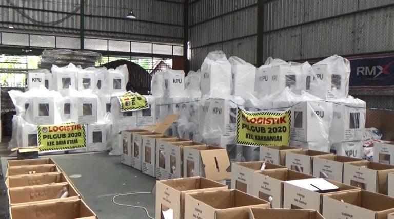 KPU HSS Utamakan Pengiriman Logistik Pemilu ke Daerah Terjauh