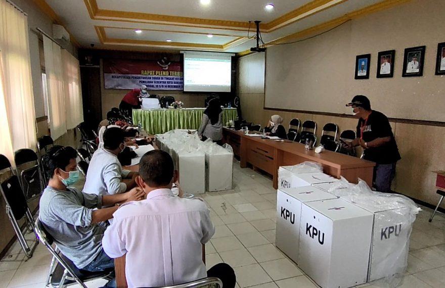 rapat pleno kecamatan Banjarmasin Barat